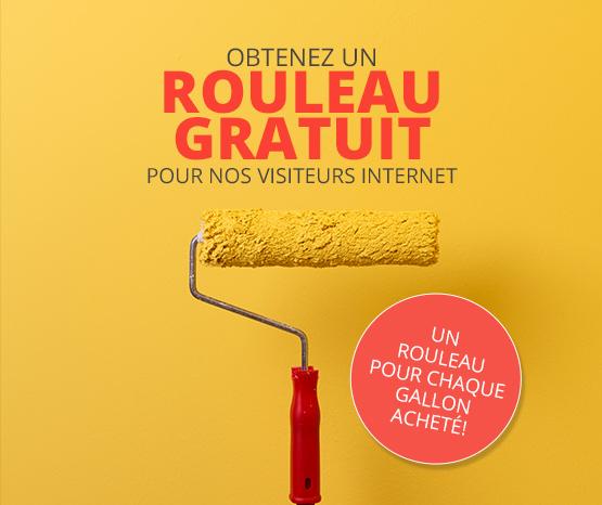 Coupon – Rouleau gratuit