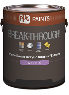 BREAK-THROUGH!  Acrylique intérieur extérieur