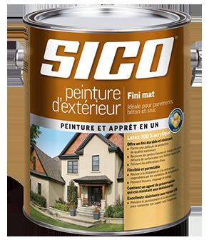 SICO – Peinture d'extérieur fini mat