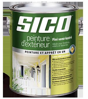 SICO – Peinture d'extérieur fini semi-lustré