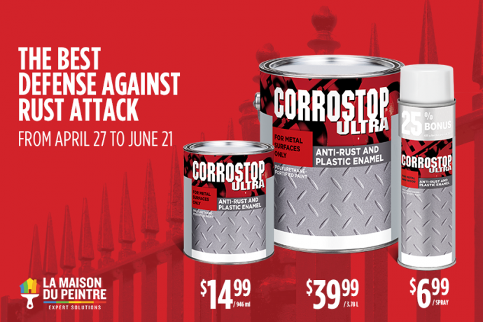 Discount on Corrostop products!